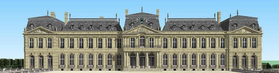 Ch teau de petit bourg minecraft project - Chateau de minecraft ...